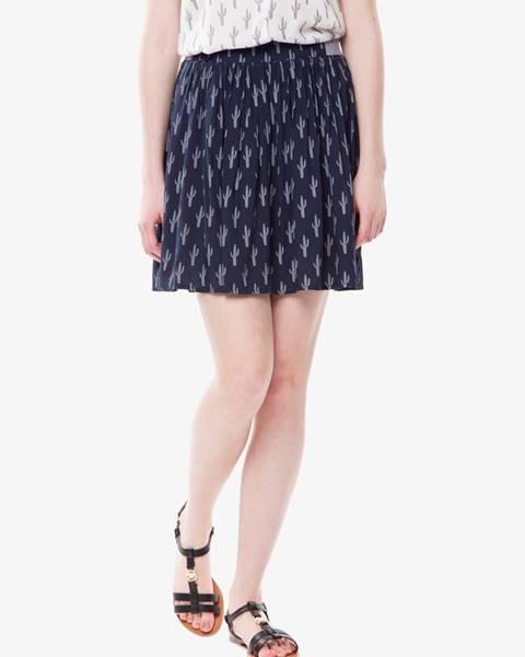Modrá sukňa Tom Tailor Denim