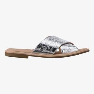 Joni Metallic Pantofle UGG Strieborná