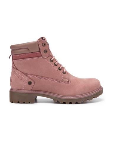 Ružové členková obuv Wrangler