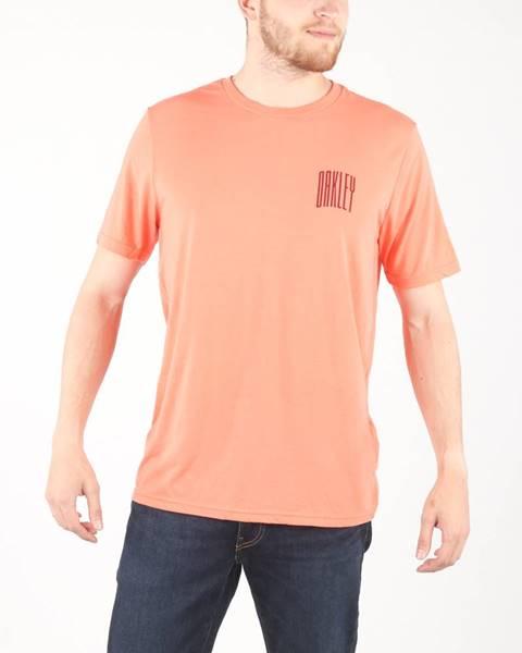 Oranžové tričko Oakley