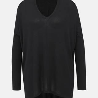 Čierny oversize sveter VERO MODA Vica