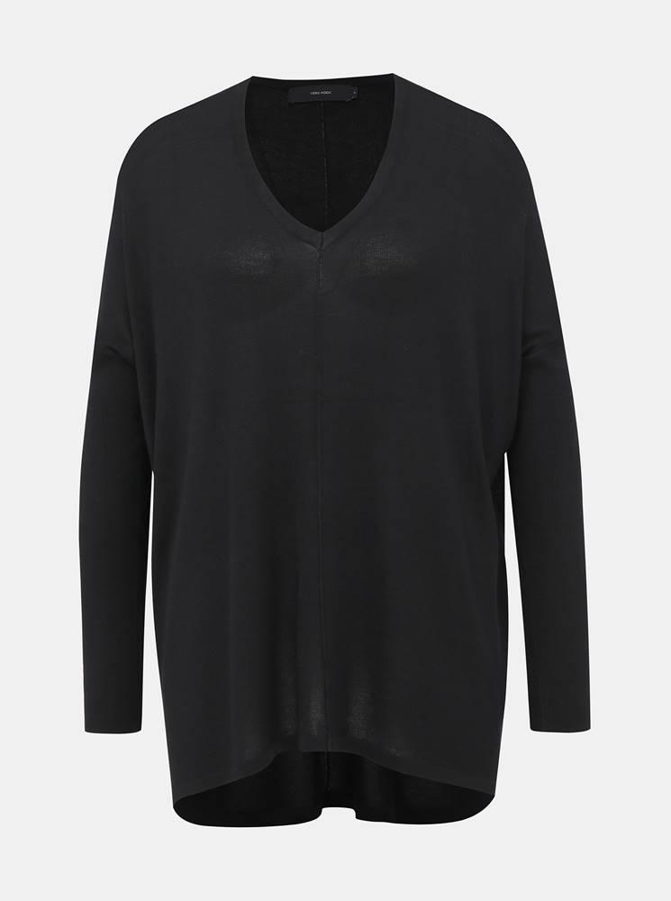 Vero Moda Čierny oversize sveter VERO MODA Vica