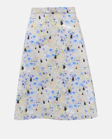 Svetlosivá sukňa annanemone