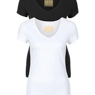Tričko, dvojdielne balenie, V-výstrih