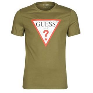 Tričká s krátkym rukávom Guess  CN SS ORIGINAL LOGO TEE