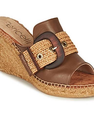 Oranžové sandále Fericelli