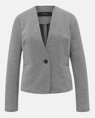 Sivé sako Vero Moda