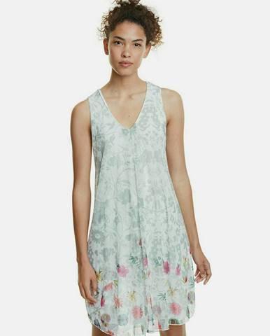 Svetlozelené šaty Desigual