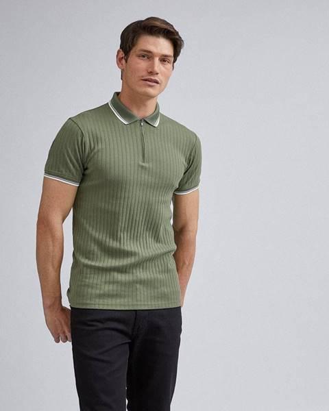 Zelená košeľa Burton Menswear London