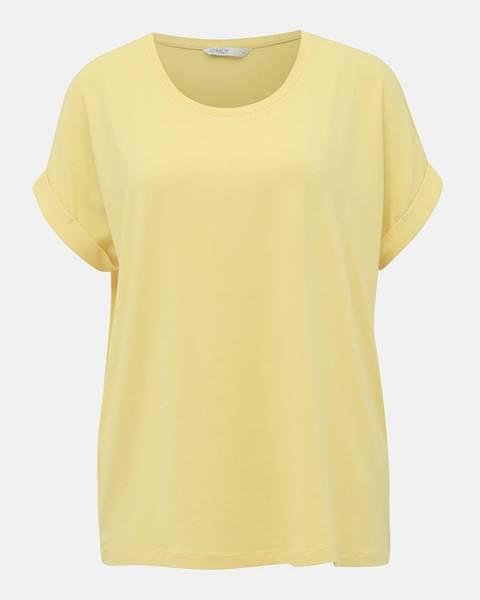 Žlté tričko Only