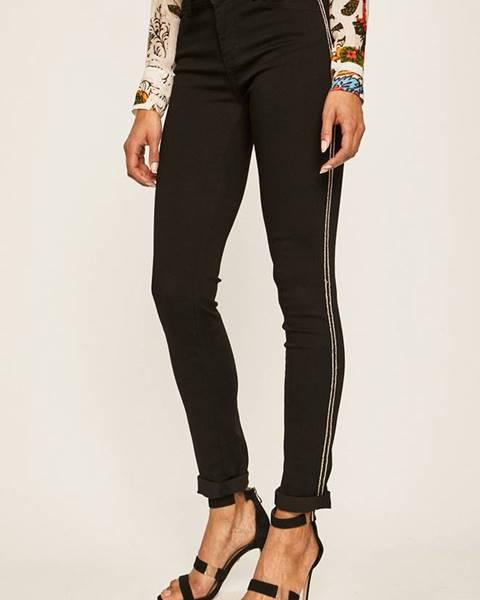 Čierne nohavice Morgan