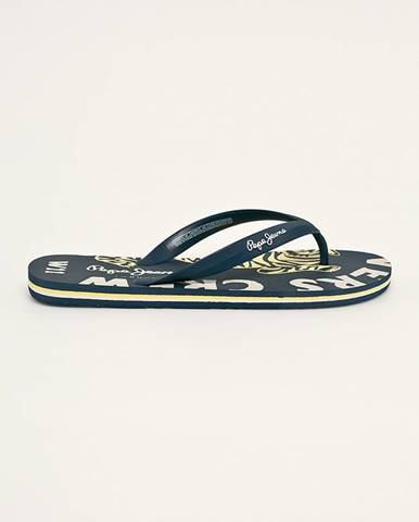 Tmavomodré sandále Pepe jeans
