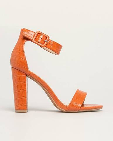 Oranžové lodičky Answear