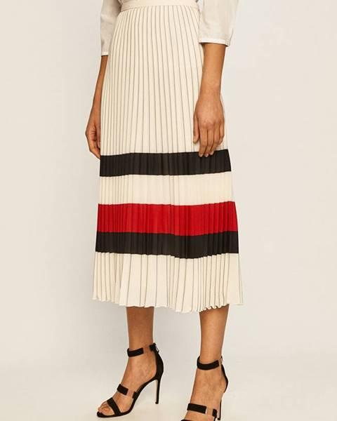 Béžová sukňa Tommy Hilfiger