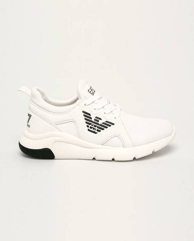 Biele topánky EA7 Emporio Armani