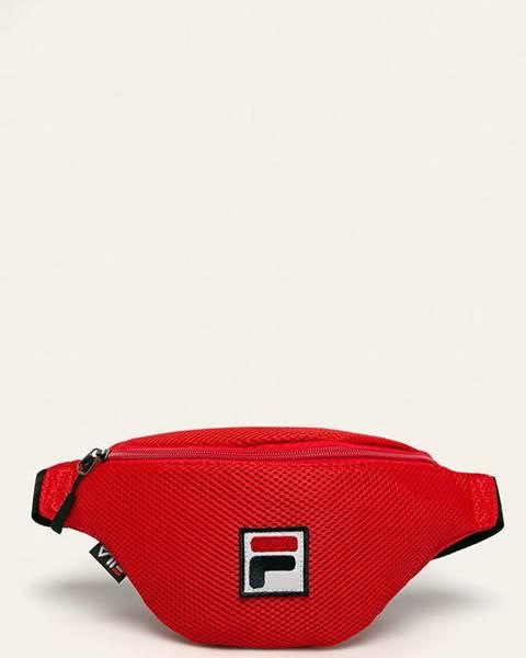 Červená kabelka Fila