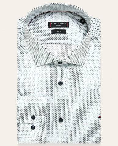 Biela košeľa Tommy Hilfiger Tailored