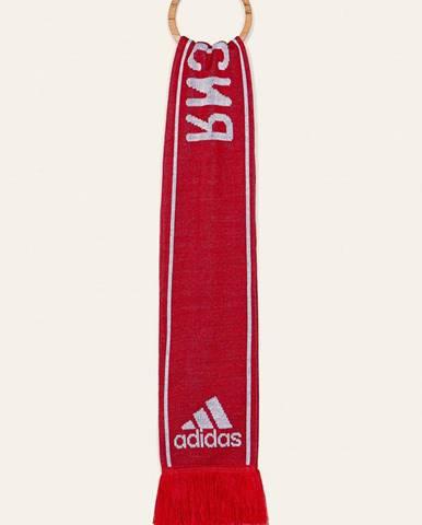 Červený šál adidas Performance