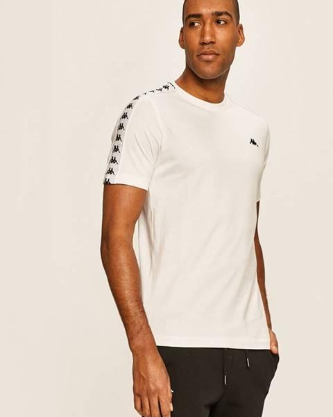 Biele tričko Kappa