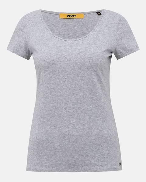 Sivé tričko zoot baseline