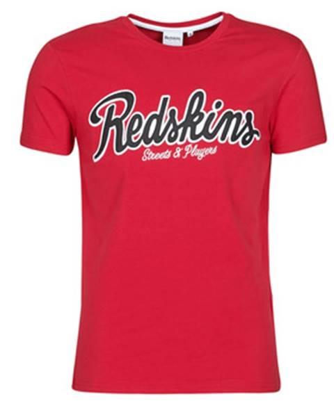 Červené tričko Redskins