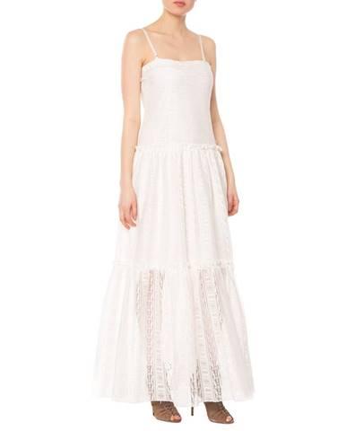 Biela sukňa Silvian Heach
