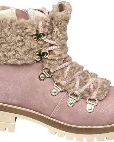 Ružové členková obuv Graceland