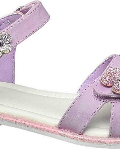 Fialové sandále Graceland