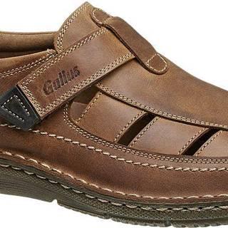 Kožená vychádzková obuv