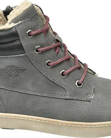 Sivé členková obuv Venice