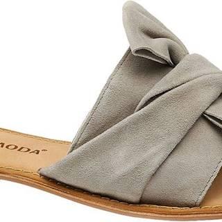 Vero Moda - Semišové šľapky