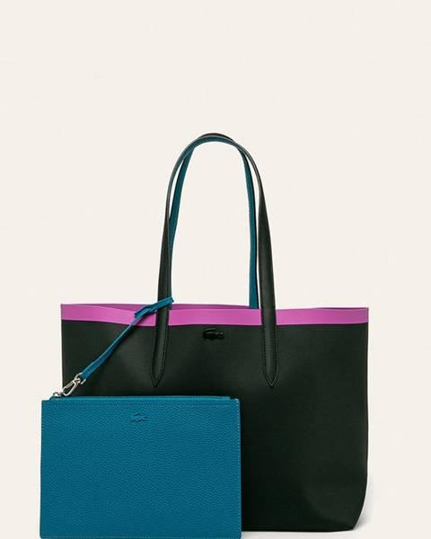 Čierna kabelka Lacoste