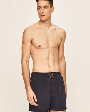 Tmavomodré plavky Pepe jeans