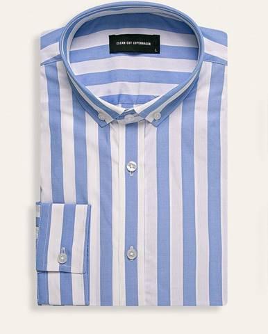 Modrá košeľa Clean Cut Copenhagen