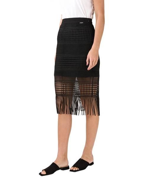 Čierna sukňa Guess