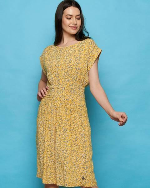 Žlté šaty Tranquillo