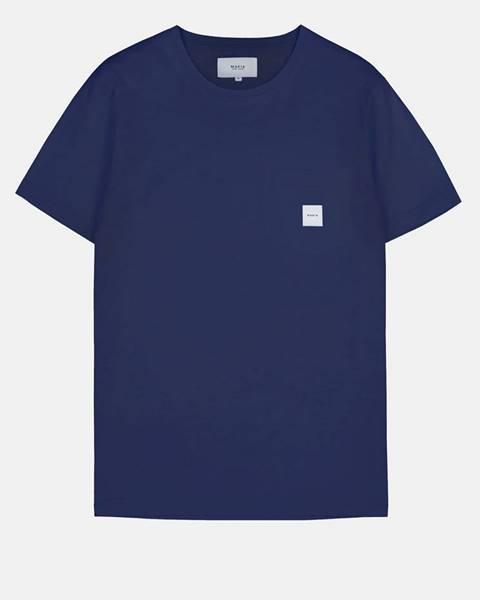 Tmavomodré tričko Makia