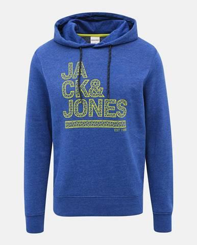 Modrá bunda s potlačou Jack & Jones