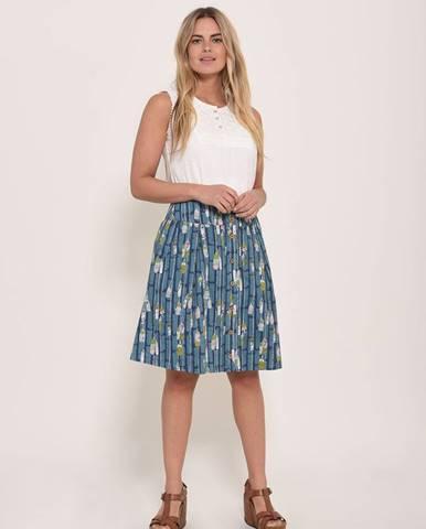 Modrá sukňa Brakeburn