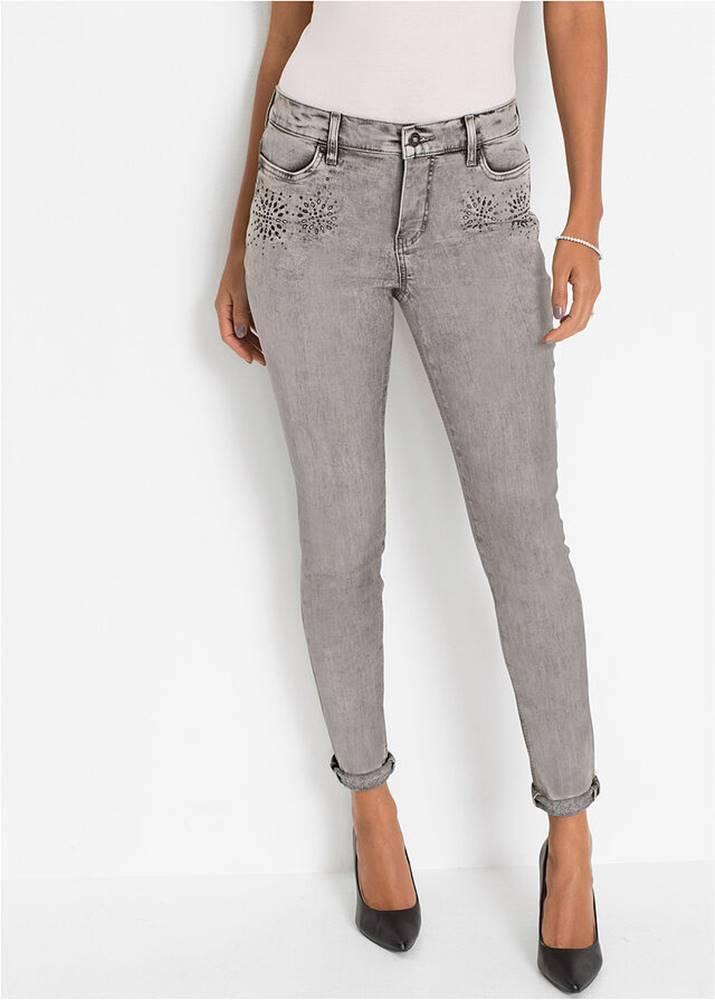 bonprix Strečové džínsy