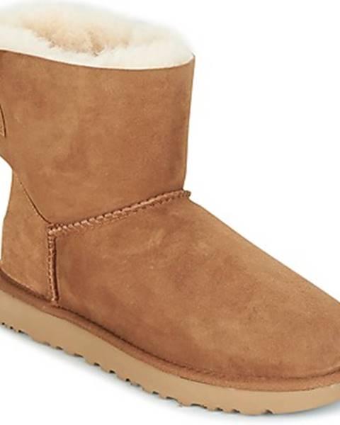 Hnedé topánky UGG
