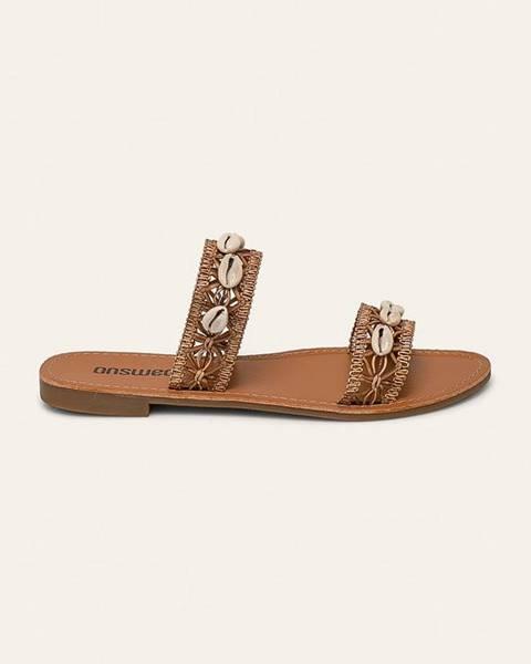 Hnedé sandále Answear