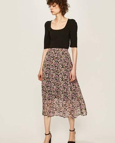 Fialová sukňa Answear
