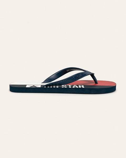 Tmavomodré sandále Big Star