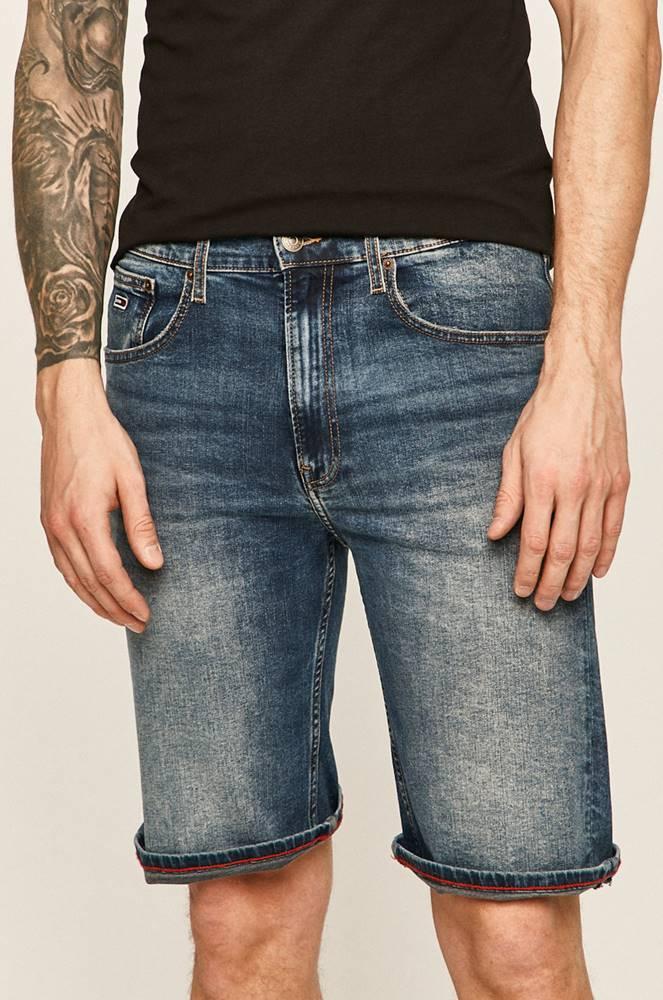 Tommy Jeans Tommy Jeans - Rifľové krátke nohavice