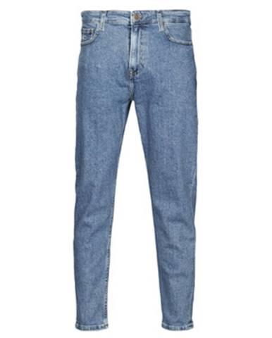Modré rifle Tommy Jeans