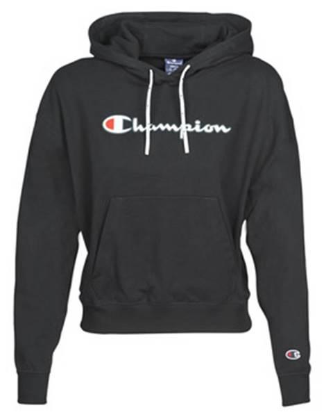 Čierna mikina Champion