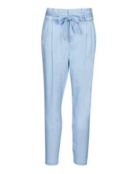 Modré chino nohavice Vero Moda