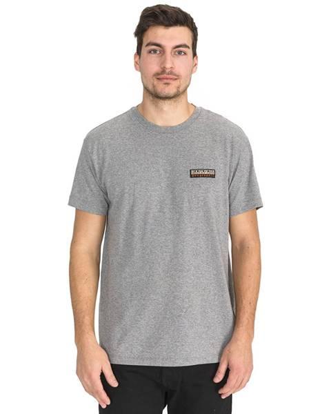 Sivé tričko Napapijri