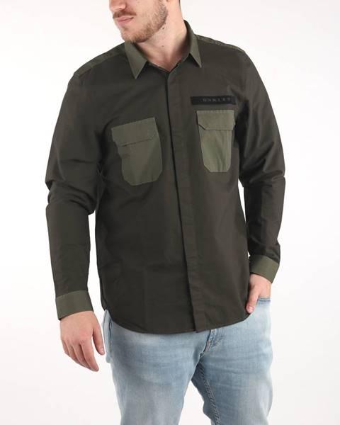 Zelená košeľa Oakley